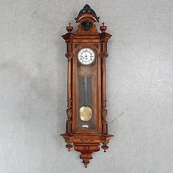 A Viennese Neo-Renaissance wall regulator clock, late 19th Century.