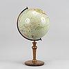 A mid 20th century world globe.