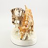A royal dux porcelain figurine mid 1900s.