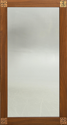 Spegel, jansen, danmark, 1900-talets andra hälft.