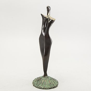 Stan Wys, sculpture, Bronze, signed, numbered 45/50, dated 2002.