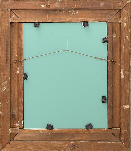 A gilded frame/mirror around 1900.