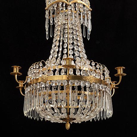 A 20th century chandelier.