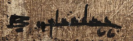 Bo hylander, oil on canvas signed.