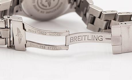 Breitling, colt ocean, rannekello, 38 mm.