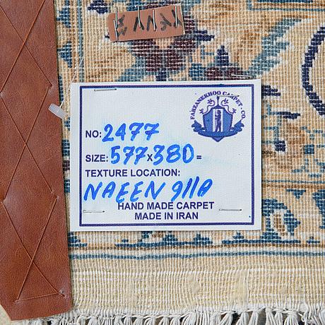 Matta, nain, part silk, 9 laa, ca 577 x 380 cm.