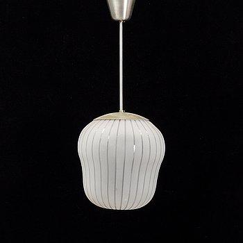 A ceiling light from Orrefors, Sweden, 1940's.