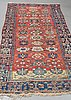 A carpet, antique mahal parobably, ca 396 x 144 cm.