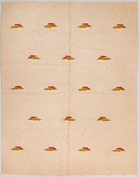 A 1930s Finnish flat weave carpet. Circa 21x164 cm.