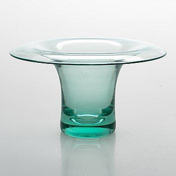 Helena Tynell, A glass vase, sign. Riihimäen Lasi Oy H. Turpeinen.