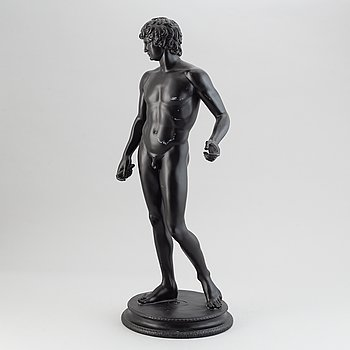 A sculpture after the 'Capitoline Antinous', England, modern manufacturing.