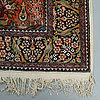 A rug, pakistan, ca 180 x 121,5 cm (as well as ca 1-1,5 cm flat weave at the ends).