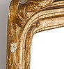 Spegel, av johan åkerblad (mästare i stockholm 1758-1799), transition rokoko/gustaviansk.