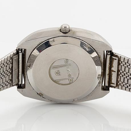 Omega, de ville, electronic (f300hz), armbandsur, 37,5 mm.