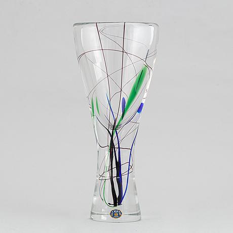 Vicke lindstrand, vas, glas, kosta.