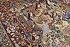 A carpet, figural kashmar, ca 385 x 293 cm.