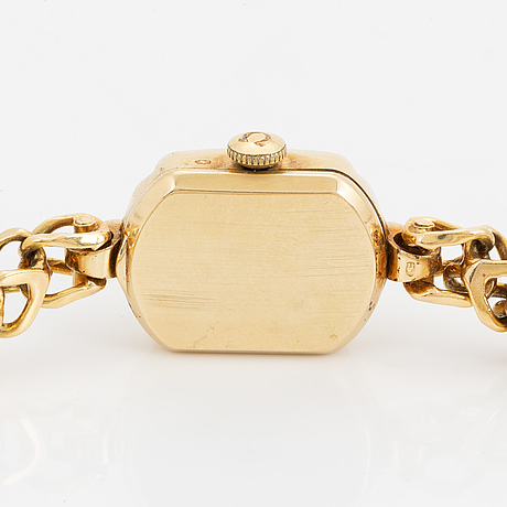 Omega, armbandsur, 15 x 19 (27) mm.