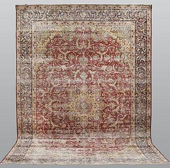 A carpet, Oriental, ca 405 x 275 cm.