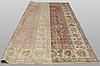 A carpet, oriental, ca 385 x 267 cm.