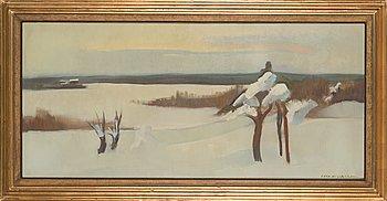 Eero Nelimarkka, oil on canvas, signed.