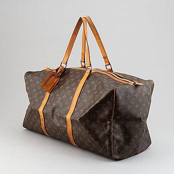 """Louis Vuitton, weekendväska,  """"Keepall 55""""."""
