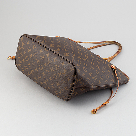 Louis vuitton, a monogram canvas 'neverfull' bag.