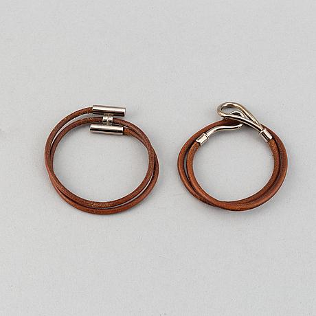 Hermès, two bracelet.