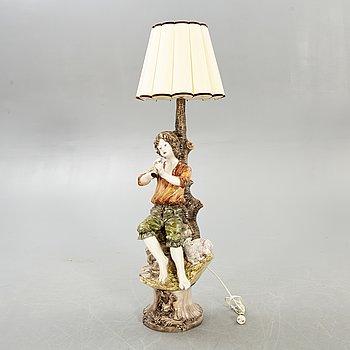 Bordslampa/golvlampa Italien 1900-talet mitt.