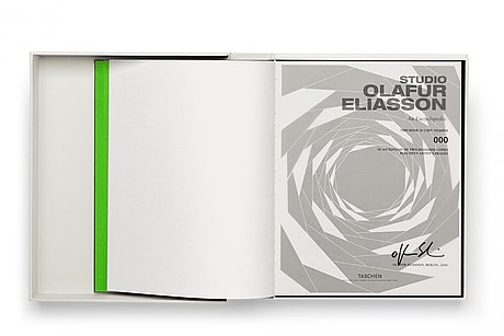 Philip ursprung/olafur eliasson, book taschen signed and numbered 136/200.