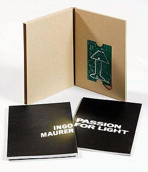 Ingo Maurer, a set of two books.