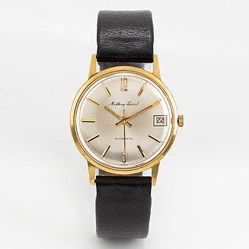 Mathey-Tissot, wristwatch, 34 mm.