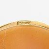 An 18k gold and sea shell cameo pendant. basilio liverno.