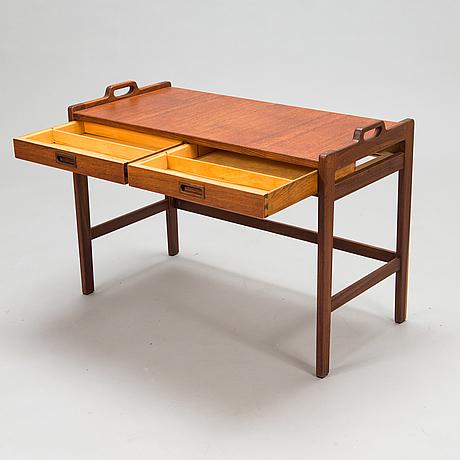 "A set of tables from ""the ideal series"" by gunnar myrstrand & sven engström, ab skaraborgs möbelindustri, tibro, sweden."