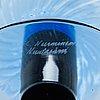 Kerttu nurminen, an art glass, lampi pro arte 1993, signed k. nurminen, nuutajärvi.
