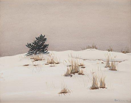 Axel sjöberg, winter, sandhamn.