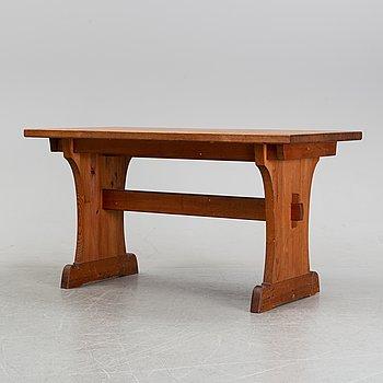 Axel Einar Hjorth, attributed to. A pine table, Nordiska Kompaniet, 1940's.