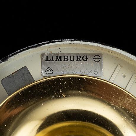 A glass ceiling light, glashütte limburg, germany.