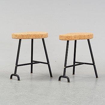 Ailse Crawford, a pair of stools, model 'Sinnerlig' for IKEA.