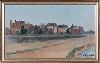 Erkki Heikkilä, oil on canvas, signed and dated -82.