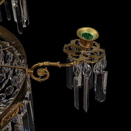An end of the 19th century chandelier.
