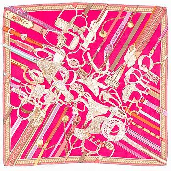 """Hermès, """"Concours d'étriers"""", scarf."""