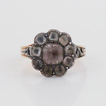Paste stone ring.