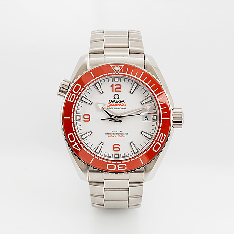 Omega, seamaster, planet ocean 600m, co-axial, chronometer, wristwatch, 43.5 mm.