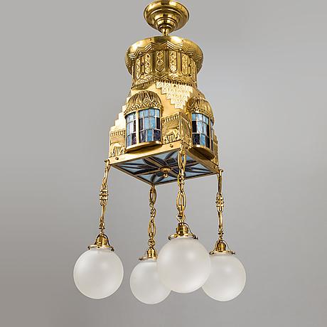 A central european chandeler, around 1900.