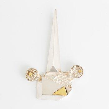 A Rolf Karlsson silver pendant.