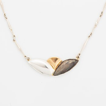 Rolf Karlsson a silver pendant.