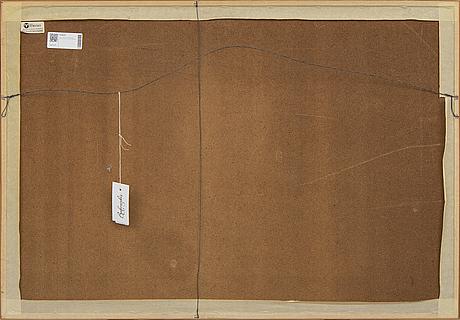 Theo tobiasse, färglitografi, signerad och numrerad 188/250.