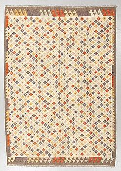 Matto, kilim, ca 249 x 174 cm.