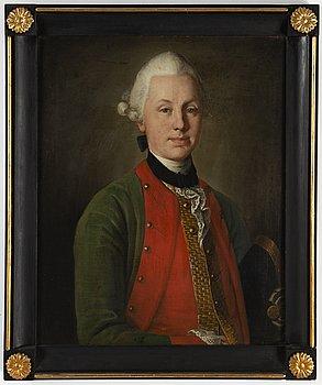 Carl Ludwig Christineck, 1700-tal, olja på duk, signerad a tergo.