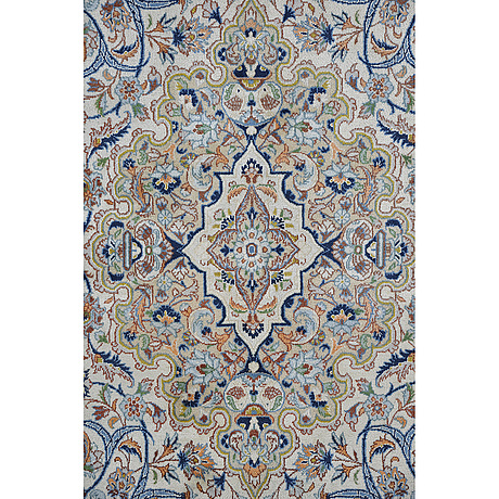 A carpet, kashmar, ca 353 x 227 cm.